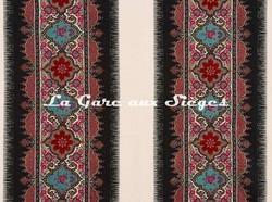 Tissu Braquenié - La Paiva - réf: B7598.001 Multicolore - Voir en grand