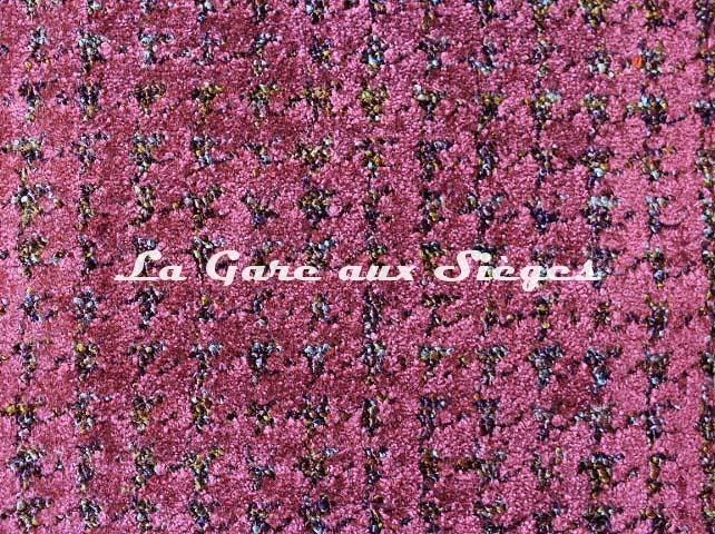 Tissu Camengo - Emilie - réf: 4168.0418 Aubergine - Voir en grand