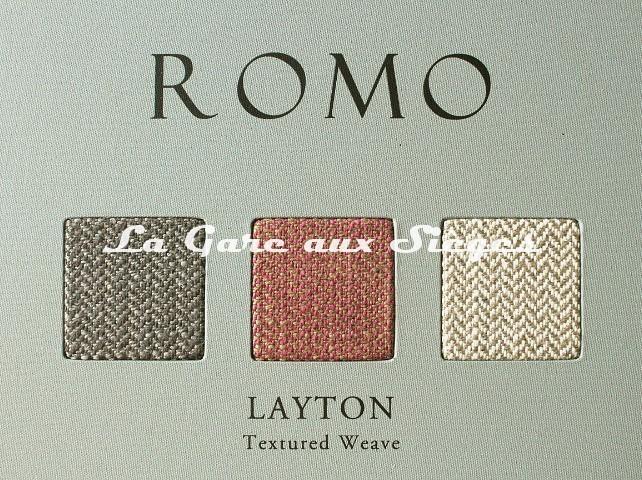 Tissu Romo - Layton - réf: 7688 - Voir en grand