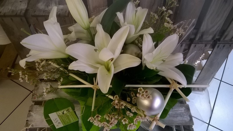 Bouquet De Fleurs Pou Les De Noel Art Floral Chaumont 52 Art
