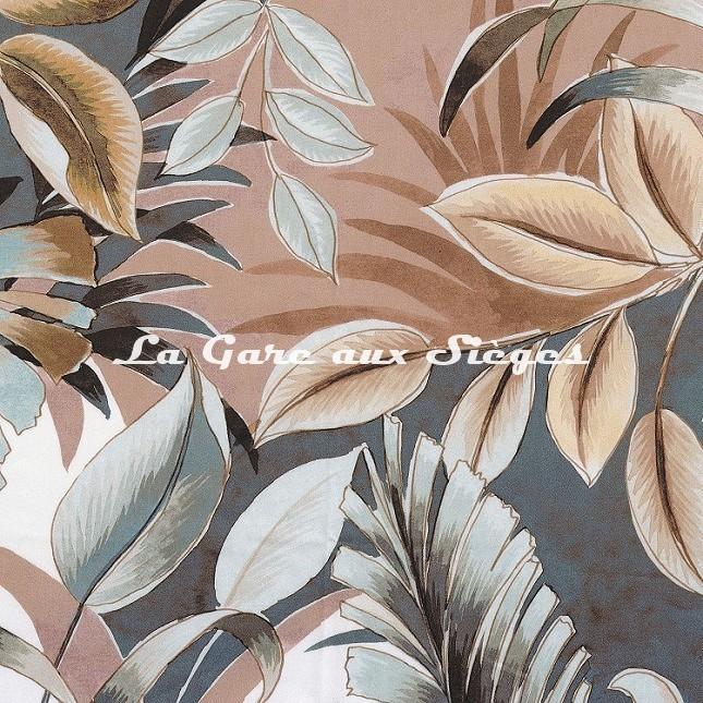 Tissu Casamance - Dypsis - réf: 4106.0226 Rose poudrée - Voir en grand
