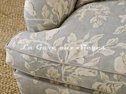 Tissu Sanderson - Magnolia & Pomegranate - Voir en grand