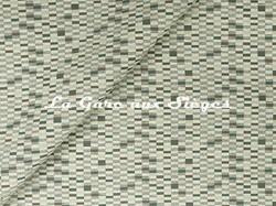 Tissu Jim Thompson - Tetris - réf: J2253/002 Mineral - Voir en grand