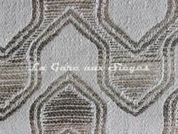 Tissu Deschemaker - Léon - réf: 103972 Sable - Voir en grand