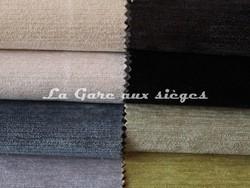 Tissu Deschemaker - Velours Colombo - Coloris: 3068-3067-3090-3088 & 3076-3075-3087-3082 - Voir en grand