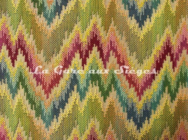 Tissu Chanée Ducrocq - Poitou - réf: 8342 Multicolore - Voir en grand