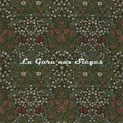 Tissu William Morris - Blackthorn - réf: PR8596/1 Green - Voir en grand