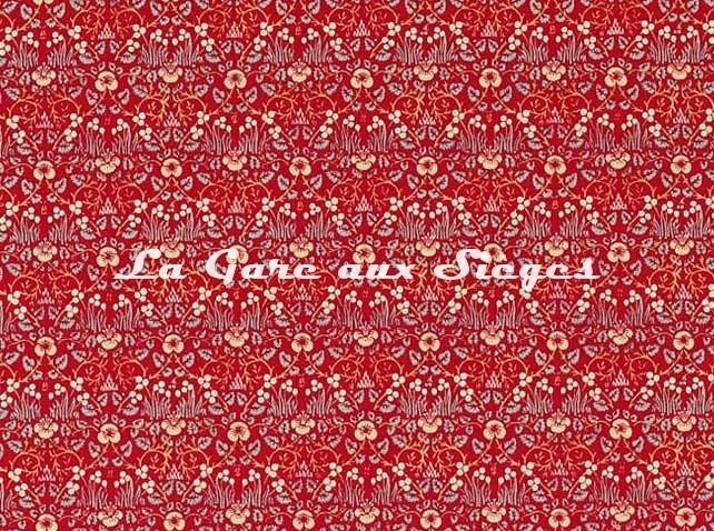 Tissu William Morris - Eye Bright - réf: 226599 Red - Voir en grand