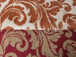Tissu Chanée Ducrocq - Tatiana - Coloris: 7824 Poterie & 7823 Piment