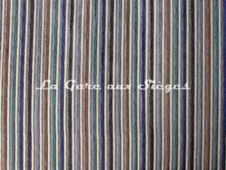 Tissu Casal - Funambule - réf: 16185 - Coloris: 1272 Bleu Ivoire - Voir en grand