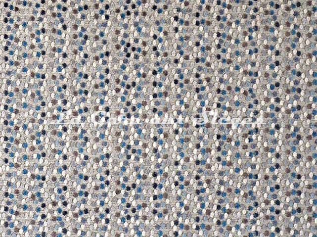 Tissu Casal - Velours Janeiro - réf: 12715.12 Bleu chardon - Voir en grand