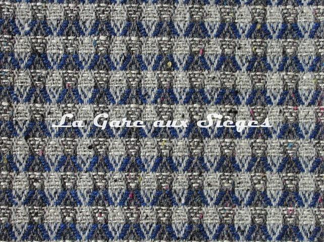 Tissu Misia - Terra Brazil - réf: M198805 Saphir - Voir en grand
