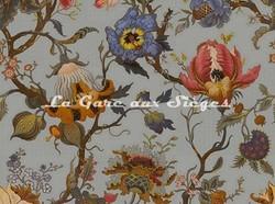 Tissu House of Hackney - Velours Artemis - Coloris: Dove-Grey - Voir en grand