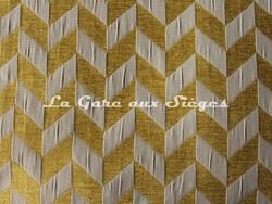 Tissu Casal - Trapéziste - réf: 16186 - Coloris: 4276 Colza Grège - Voir en grand