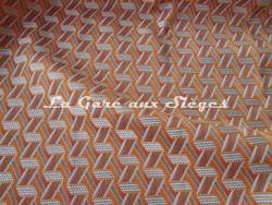 Tissu Lelièvre - Tribu - réf: 722 - Coloris: 02 Abricot - Voir en grand