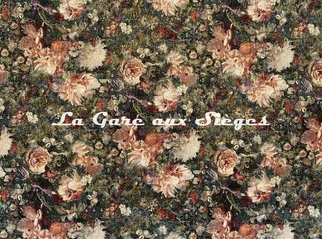 Tissu GP & J.Baker - Royal Garden Velvet - réf: BP10642.1 Quartz - Voir en grand