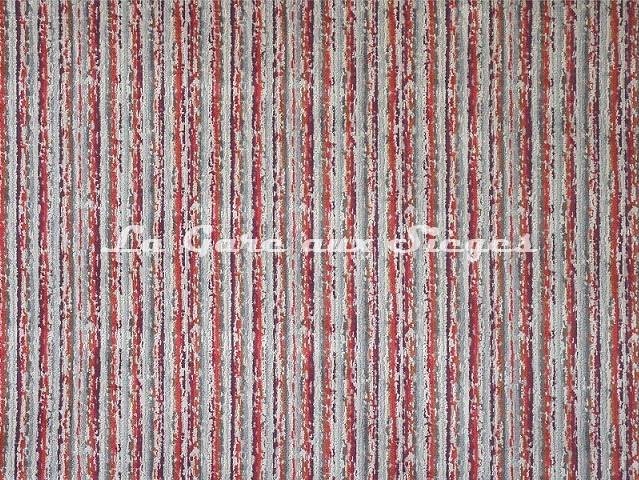 Tissu Casal - Velours Sao Paulo - réf: 12716-75 Coquelicot - Voir en grand