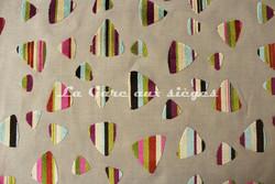 Tissu Deschemaker - Rio - réf: 103647 Multicolore - Voir en grand