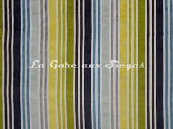 Tissu Casal - Arc en Ciel - réf: 12669 - Coloris: 12 Multibleu - Voir en grand