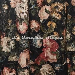 Tissu House of Hackney - Midnight Garden lin/viscose - Voir en grand