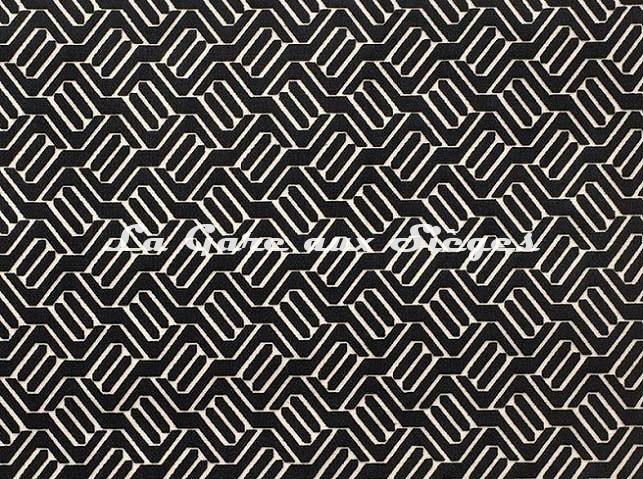 Tissu Camengo - Douves - réf: 4139.0559 Noir - Voir en grand