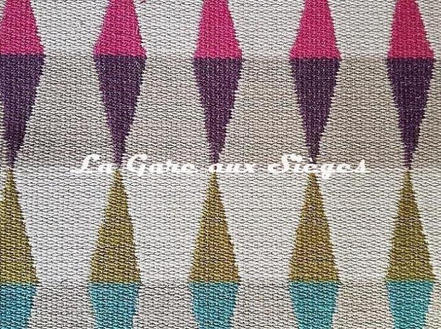 Tissu Harlequin - Ampico - réf: 132092 Fuchsia/Marine/lime ( détail ) - Voir en grand