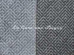 Tissu Osborne & Little - Ardee - réf: F6690 - Coloris: 02 Grey/Ivory & 03 Black/Ivory - Voir en grand