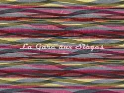 Tissu Casamance - Frénésie - réf: 3792.0156 Fuschia - Voir en grand