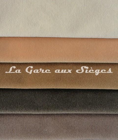 Tissu Pierre Frey - Velours Médium - réf: F3211 - Coloris: 001 - 002 - 003 - 004 - 005 - Voir en grand