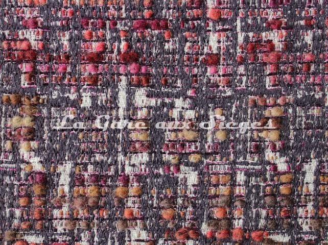 Tissu Osborne & Little - Oakley - réf: F7064-04 Pink/Rust - Voir en grand