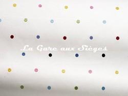 Tissu Pierre Frey - Confettis - réf: F2974.001 Multicolore - Voir en grand