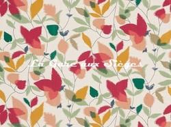 Tissu Scion - Akira - réf: 120750 Berry/Ochre/Pistachio - Voir en grand