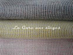 Tissu Dominique Kieffer - Incroyable - réf: 17197 - Coloris: 04 Boue - 05 Canari - 06 Layette - Voir en grand
