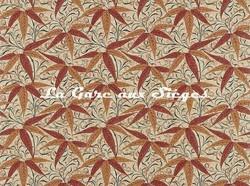 Tissu William Morris - Bamboo - réf: 222527 Russet/Siena - Voir en grand