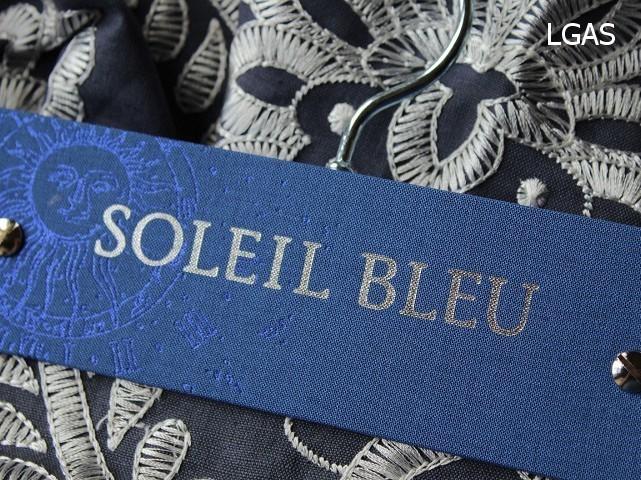 Tissus Soleil bleu - La Gare aux Sièges - Voir en grand