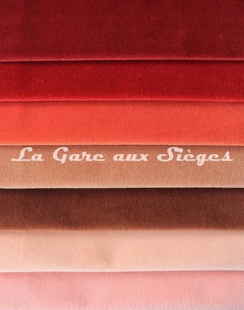 Tissu Pierre Frey - Velours Médium - réf: F3211 - Coloris: 019 - 020 - 021 - 022 - 023 - 024 - 025 - Voir en grand