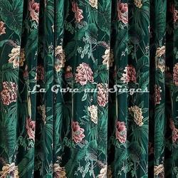 Tissu House of Hackney - Paradisia velvet - Voir en grand