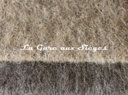 Tissu Pierre Frey - Yéti - réf: 3290 - Coloris: 003 Hérisson & 004 Loft - Voir en grand