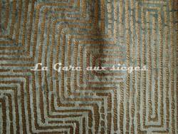 Tissu Nobilis - Plazza - réf: 10510 - Coloris: 70 Turquoise Nil - Voir en grand