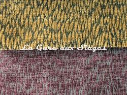 Tissu Pierre Frey - Colette - réf: F3115 - Coloris: 019 Quinoa - 021 Raisin - Voir en grand