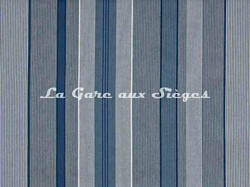 Tissu Pierre Frey - Marco Polo - réf: F2917-001 Bleu - Voir en grand