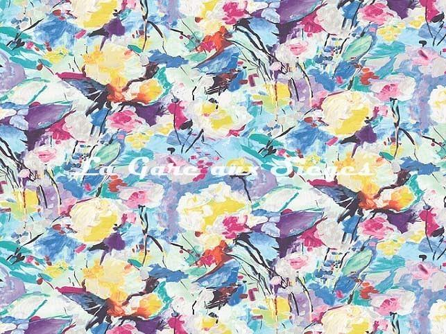 Tissu Casal - Emily - réf: 30410.190 Multicolore - Voir en grand