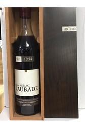 Armagnac Laubade 1954 coffret Bois - ARMAGNAC - Charpentier Vins - Voir en grand