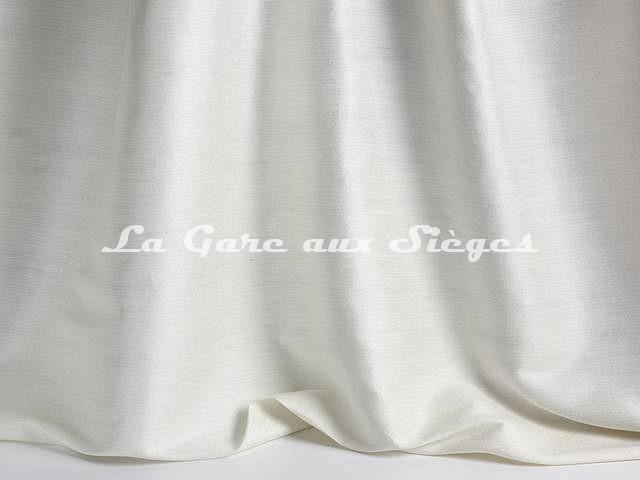 Tissu Pierre Frey - Soie Albertine - réf: F3278-001 Crème - Voir en grand