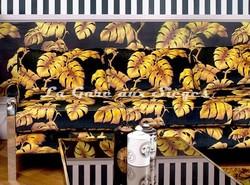 Tissu House of Hackney - Velours Tavorine - Voir en grand