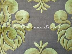 Tissu Casal - Velours Galliéra - réf: 12655 - Coloris: 30 Vert pomme - Voir en grand