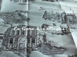 Tissu Rubelli - Toile de Venise - réf: 30122.001 Acqua ( détail ) - Voir en grand