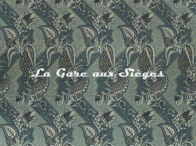 Tissu Zoffany - Bizarre velvet - réf: 322707 Nocture - Voir en grand
