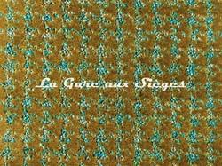 Tissu Camengo - Emilie - réf: 4168.0723 Vert - Voir en grand