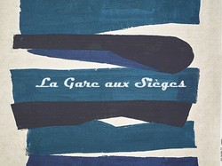 Tissu Pierre Frey - Obsidienne - réf: F3367.001 Indigo - Voir en grand